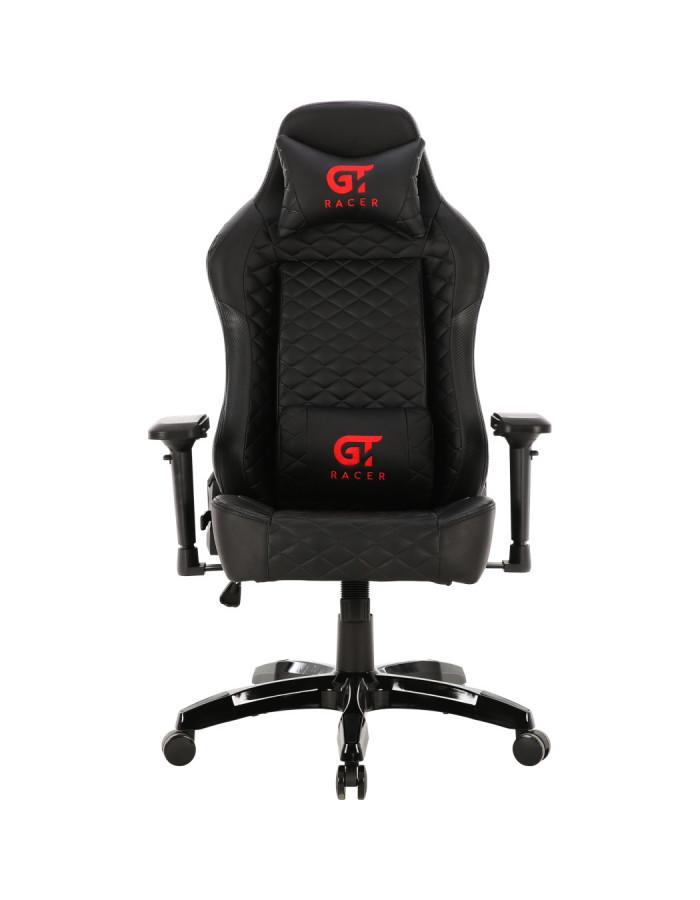 Геймерское кресло GT Racer X-2604-4D Black