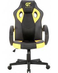 Геймерское кресло GT Racer X-2752  Black/Yellow