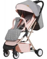 Детская коляска GT Baby 1802 Gold/Pink/Gray