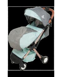 Детская коляска GT Baby 1802 Gold/Green/Gray