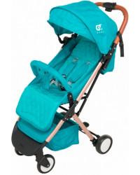 Детская коляска GT Baby 1802 Gold/Blue