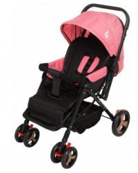Детская коляска GT Baby 148076 Black/Pink