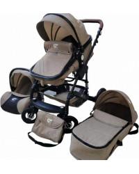 Детская коляска GT Baby 2801 Black/Khaki