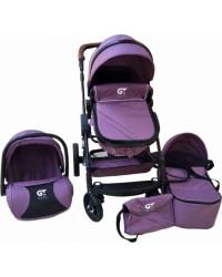 Детская коляска GT Baby 2801 Black/Purple