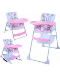 Стульчик для кормления GT Baby HC-01 Pink/Fruit Patterns
