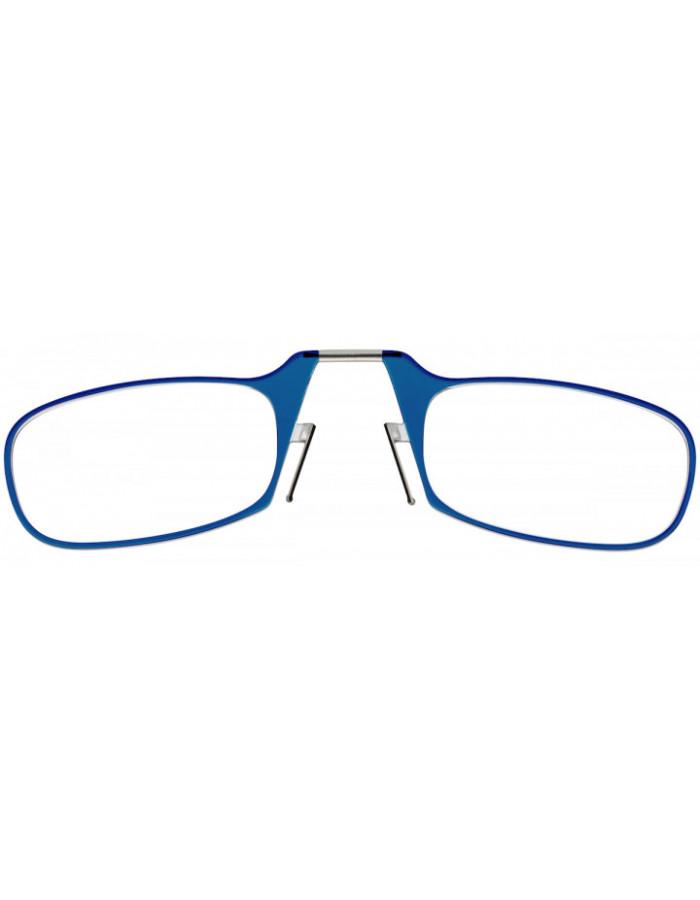 Очки для чтения Thinoptics 1.00, голубые / Чехол универ, прозрачный  (1.0BLUWUP)