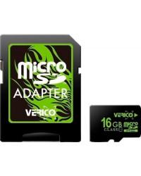 Verico MicroSDHC 16GB UHS-I (Class 10)+SD adapter