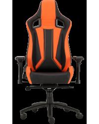Геймерское кресло GT Racer X-0715 Black/Orange