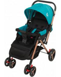 Детская коляска GT Baby 2305-6 Gold/Blue