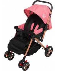 Детская коляска GT Baby 2305-6 Gold/Pink