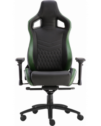 Геймерское кресло GT Racer X-0718 Black/Green