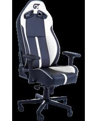 Геймерское кресло GT Racer X-8009 Black/White