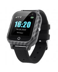 Смарт-часы GoGPS T01 Термометр черные