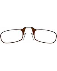 Очки для чтения Thinoptics 2.00, коричневые + Чехол универ, черный (2.0BRBUP)