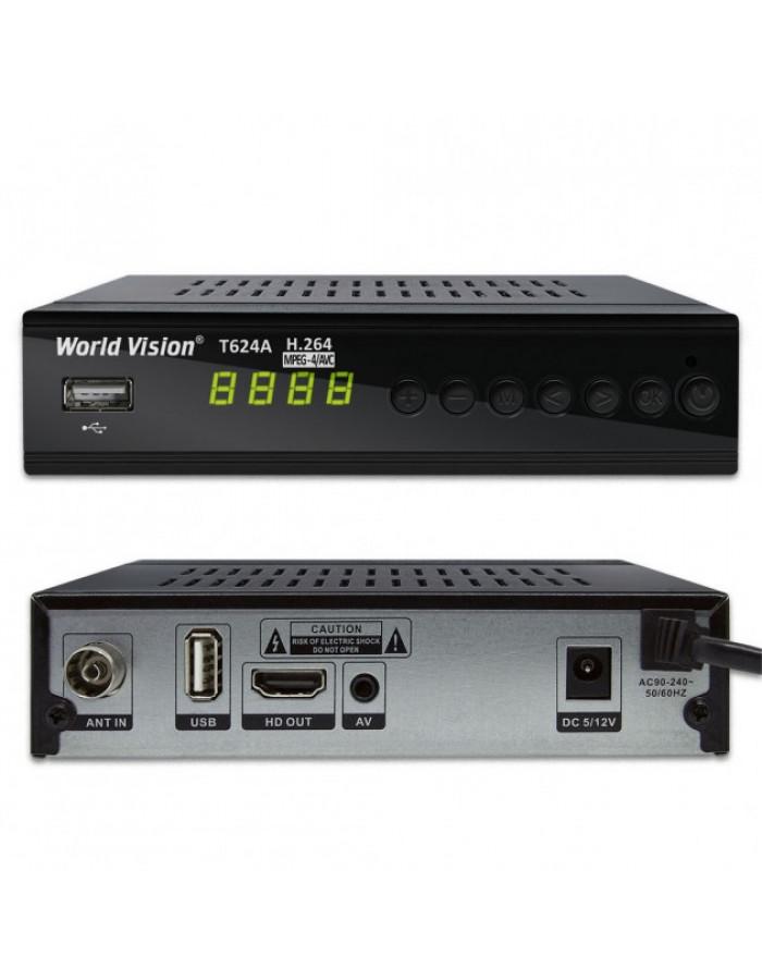 Медиаплеер World Vision T624A DVB-T2