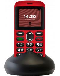 Мобильный телефон Ergo R201 Dual Sim Red