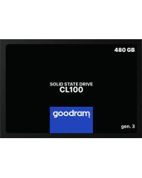 SSD диск Goodram CL100 GEN.3 480 GB (SSDPR-CL100-480-G3)