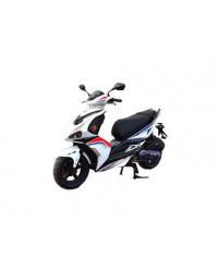 Скутер Forte FANTASY 125CC білий (чорно-білий)