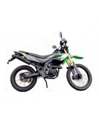 Мотоцикл Forte FT250GY-CBA зелено-чорний