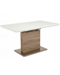 Кухонный стол GT К-6101 White/Cappuccino paper