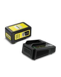 Зарядное устройство Karcher Быстрозарядный комплект Battery Power 18 В 5 А (2.445-063.0)