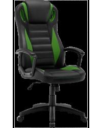 Геймерское кресло GT Racer B-2855 Black/Green