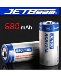 Аккумулятор JetBeam RCR123A 680mAh