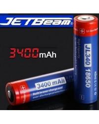 Аккумулятор JetBeam 18650 3400mAh