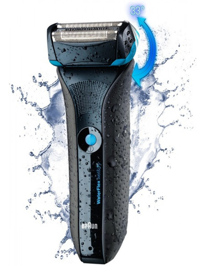 Бритва Braun WaterFlex WF2S black