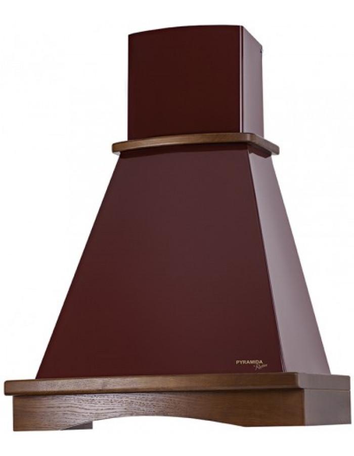 Вытяжка Pyramida R 60 BURGUNDY NUT/U